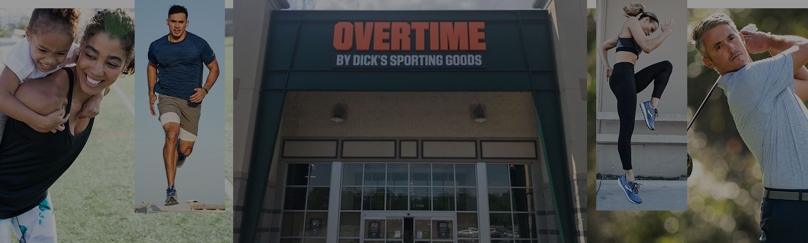 Overtime by DICK's Sporting Goods collage