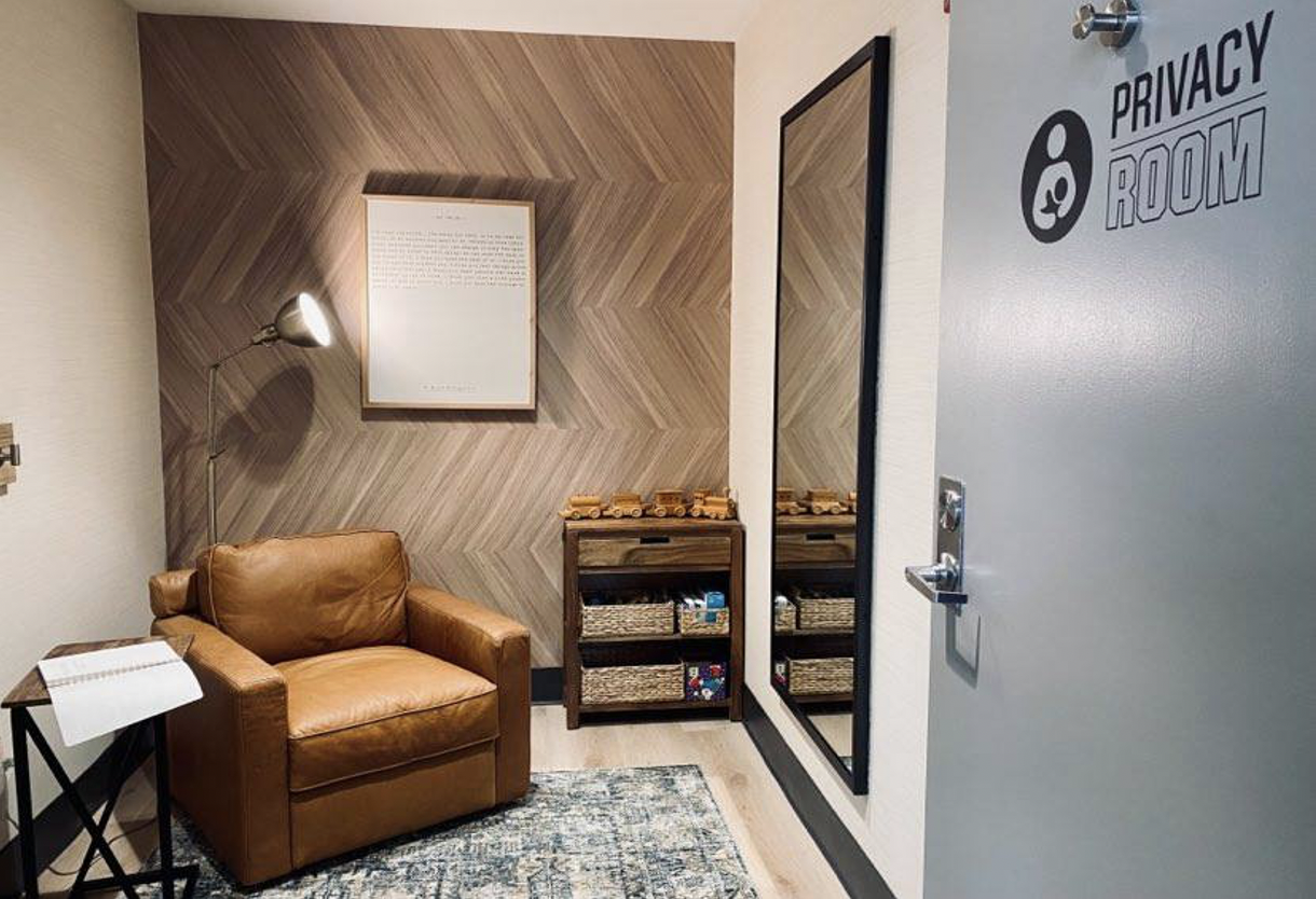 Privacy Room Reserve