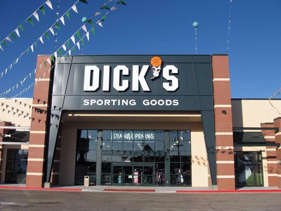 Store front of DICK'S Sporting Goods store in Hattiesburg, MS