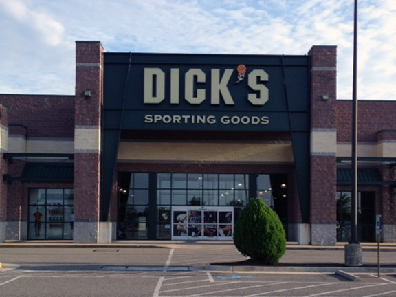 Store front of DICK'S Sporting Goods store in North Chesterfield, VA