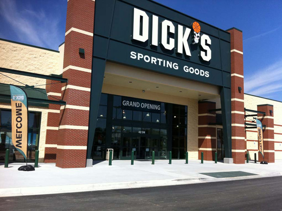 Store front of DICK'S Sporting Goods store in St. Joseph, MO