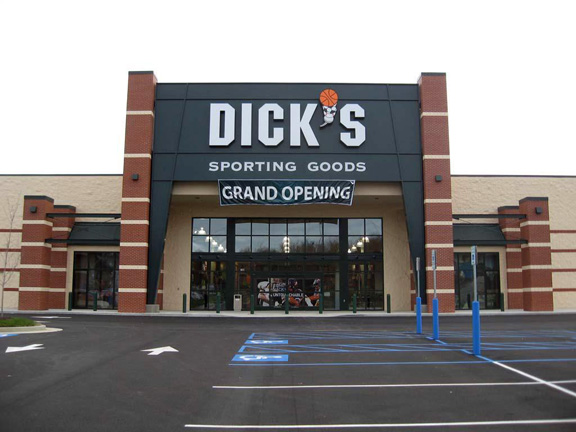 Store front of DICK'S Sporting Goods store in Jefferson City, MO