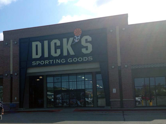 Store front of DICK'S Sporting Goods store in South Charleston, WV