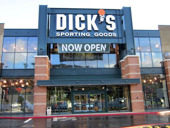 Store front of DICK'S Sporting Goods store in Daly City, CA