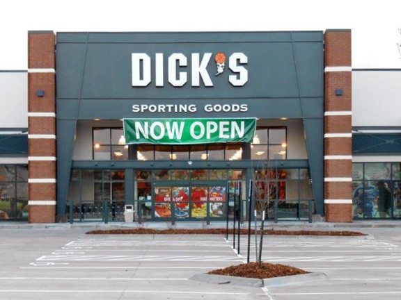Store front of DICK'S Sporting Goods store in West Des Moines, IA