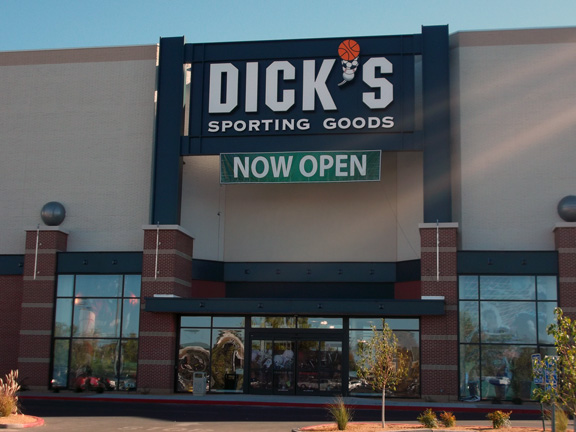 Store front of DICK'S Sporting Goods store in Albuquerque, NM