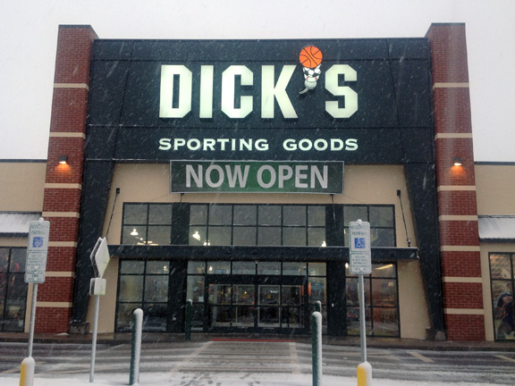 Store front of DICK'S Sporting Goods store in Sioux Falls, SD