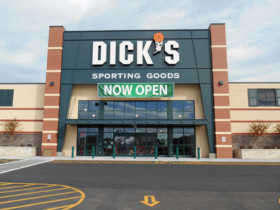 Store front of DICK'S Sporting Goods store in Morganton, NC