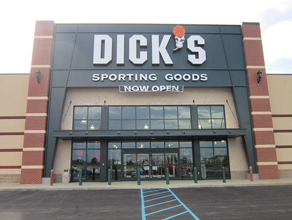 Store front of DICK'S Sporting Goods store in Frankfort, KY