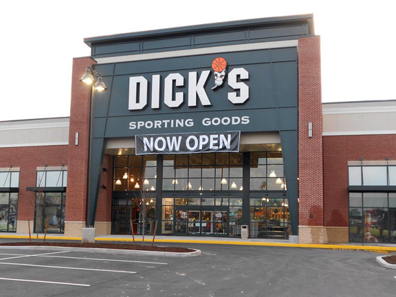 Store front of DICK'S Sporting Goods store in McCandless, PA