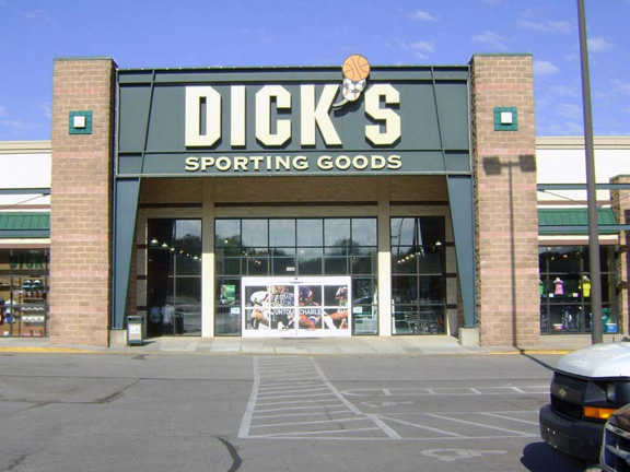 Store front of DICK'S Sporting Goods store in Merriam, KS