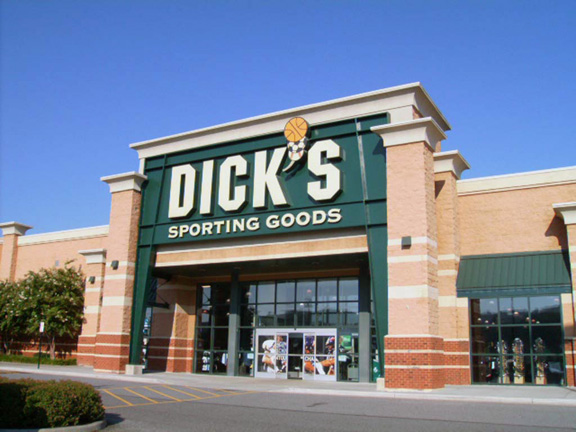Store front of DICK'S Sporting Goods store in Lynchburg, VA