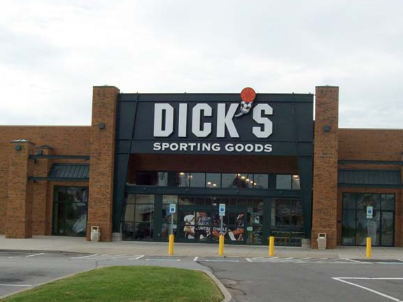 Store front of DICK'S Sporting Goods store in Knoxville, TN