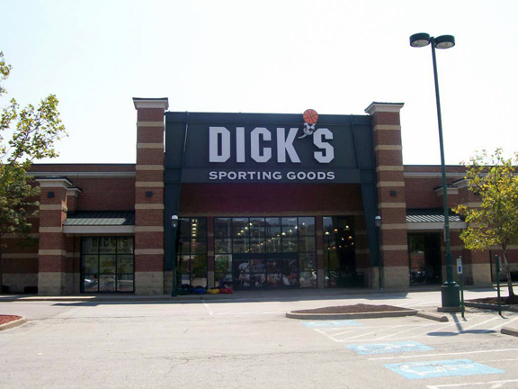 Store front of DICK'S Sporting Goods store in Homestead, PA