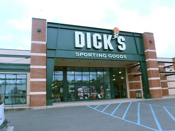 Store front of DICK'S Sporting Goods store in Bridgeport, WV
