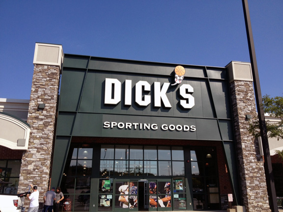 Store front of DICK'S Sporting Goods store in Smithfield, RI
