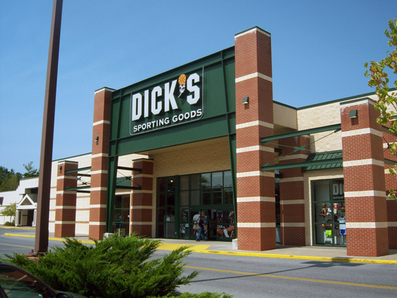 Store front of DICK'S Sporting Goods store in Queensbury, NY