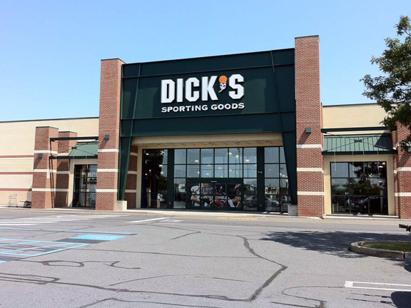 Store front of DICK'S Sporting Goods store in Whitehall, PA