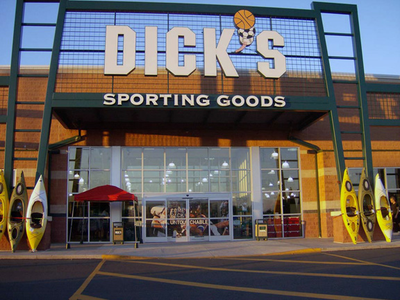 Store front of DICK'S Sporting Goods store in Reading, PA