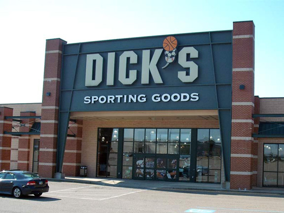 Store front of DICK'S Sporting Goods store in Steubenville, OH