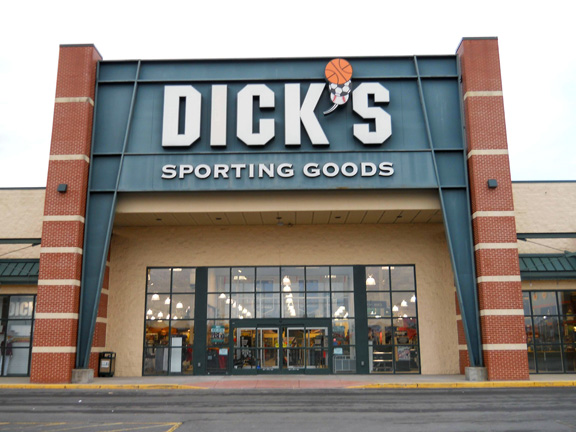 Store front of DICK'S Sporting Goods store in Granville, WV