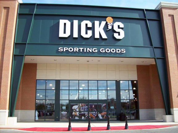 Store front of DICK'S Sporting Goods store in Cherry Hill, NJ