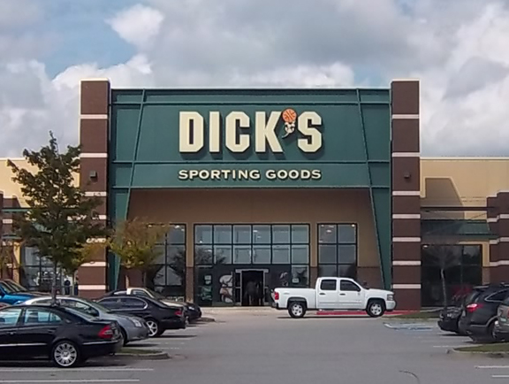Store front of DICK'S Sporting Goods store in McDonough, GA