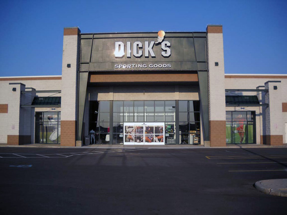 Store front of DICK'S Sporting Goods store in Erie, PA