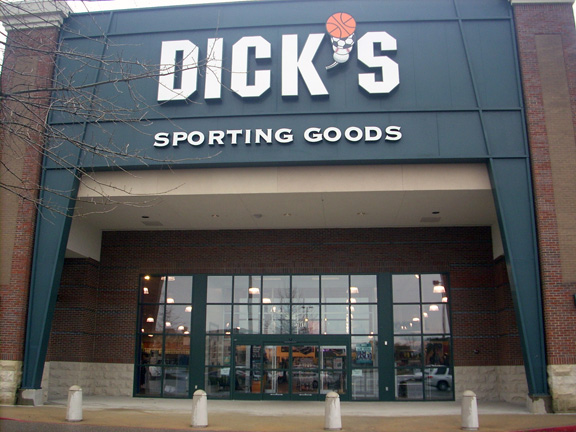 Store front of DICK'S Sporting Goods store in Montgomery, AL