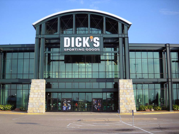 Store front of DICK'S Sporting Goods store in Richfield, MN