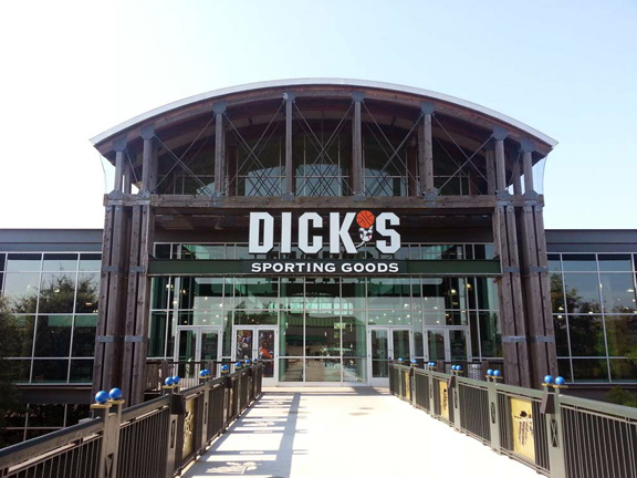 Store front of DICK'S Sporting Goods store in Gaithersburg, MD