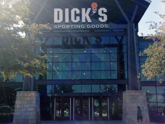 Store front of DICK'S Sporting Goods store in Frisco, TX