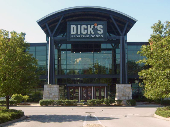 Store front of DICK'S Sporting Goods store in Louisville, KY