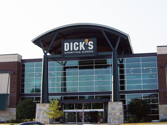 Store front of DICK'S Sporting Goods store in North Olmsted, OH