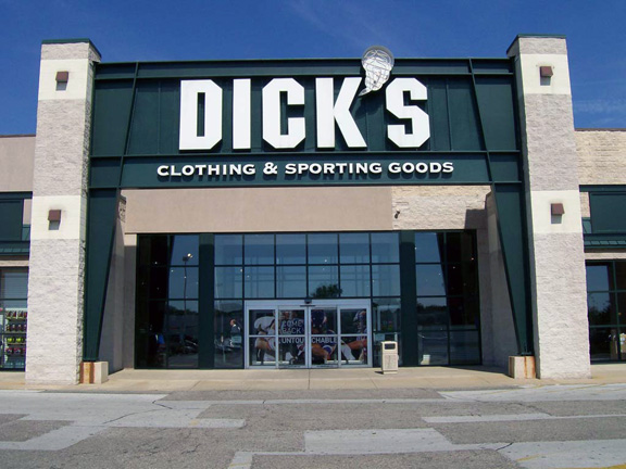 Dick sporting clothes