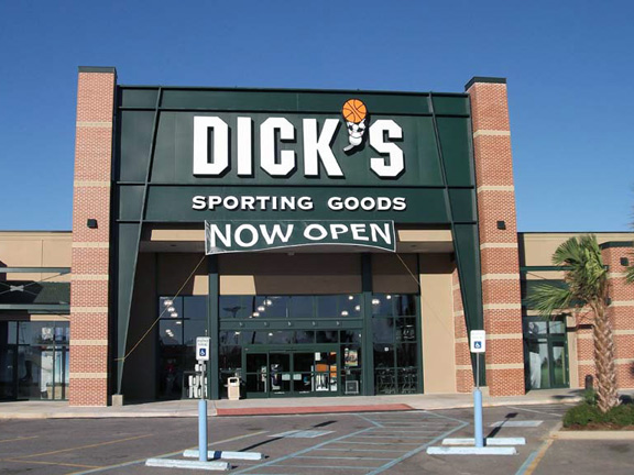 Store front of DICK'S Sporting Goods store in Metairie, LA