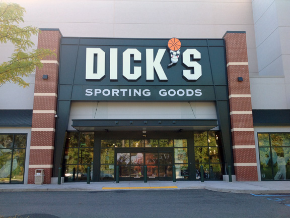 Store front of DICK'S Sporting Goods store in Yonkers, NY