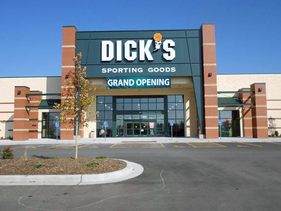Store front of DICK'S Sporting Goods store in Liberty, MO