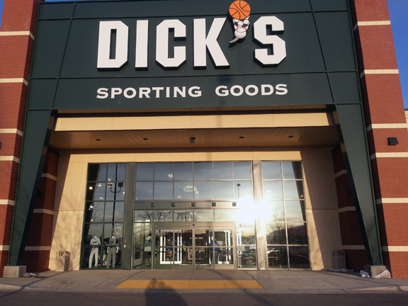 Store front of DICK'S Sporting Goods store in Pocatello, ID