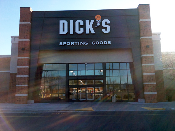 Store front of DICK'S Sporting Goods store in Rock Hill, SC
