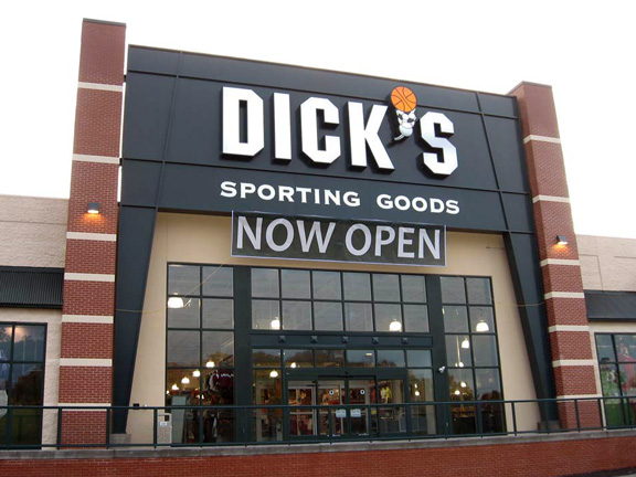 Store front of DICK'S Sporting Goods store in Westminster, MD