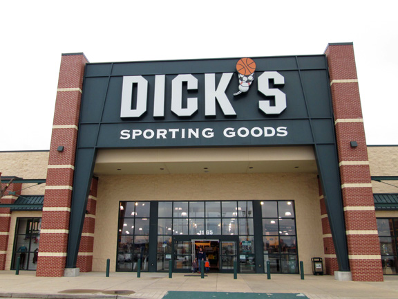 Store front of DICK'S Sporting Goods store in Jackson, TN