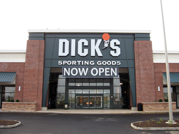 Store front of DICK'S Sporting Goods store in Manahawkin, NJ