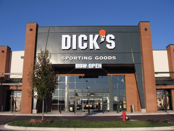 Store front of DICK'S Sporting Goods store in Knightdale, NC