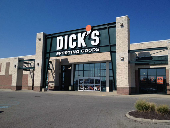 Store front of DICK'S Sporting Goods store in Cincinnati, OH