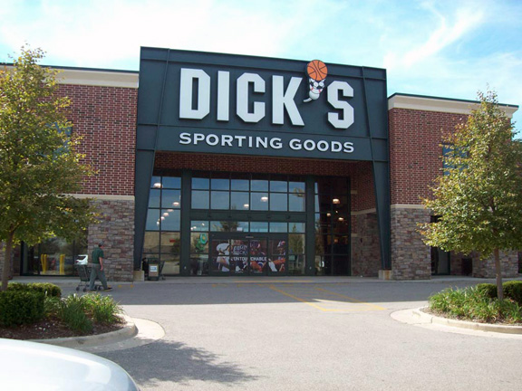 Store front of DICK'S Sporting Goods store in Kenosha, WI