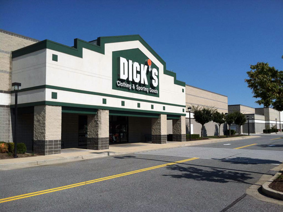 Store front of DICK'S Sporting Goods store in Baltimore, MD