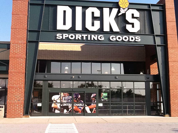 Store front of DICK'S Sporting Goods store in Columbia, MD