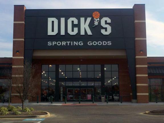 Store front of DICK'S Sporting Goods store in Mt Laurel, NJ