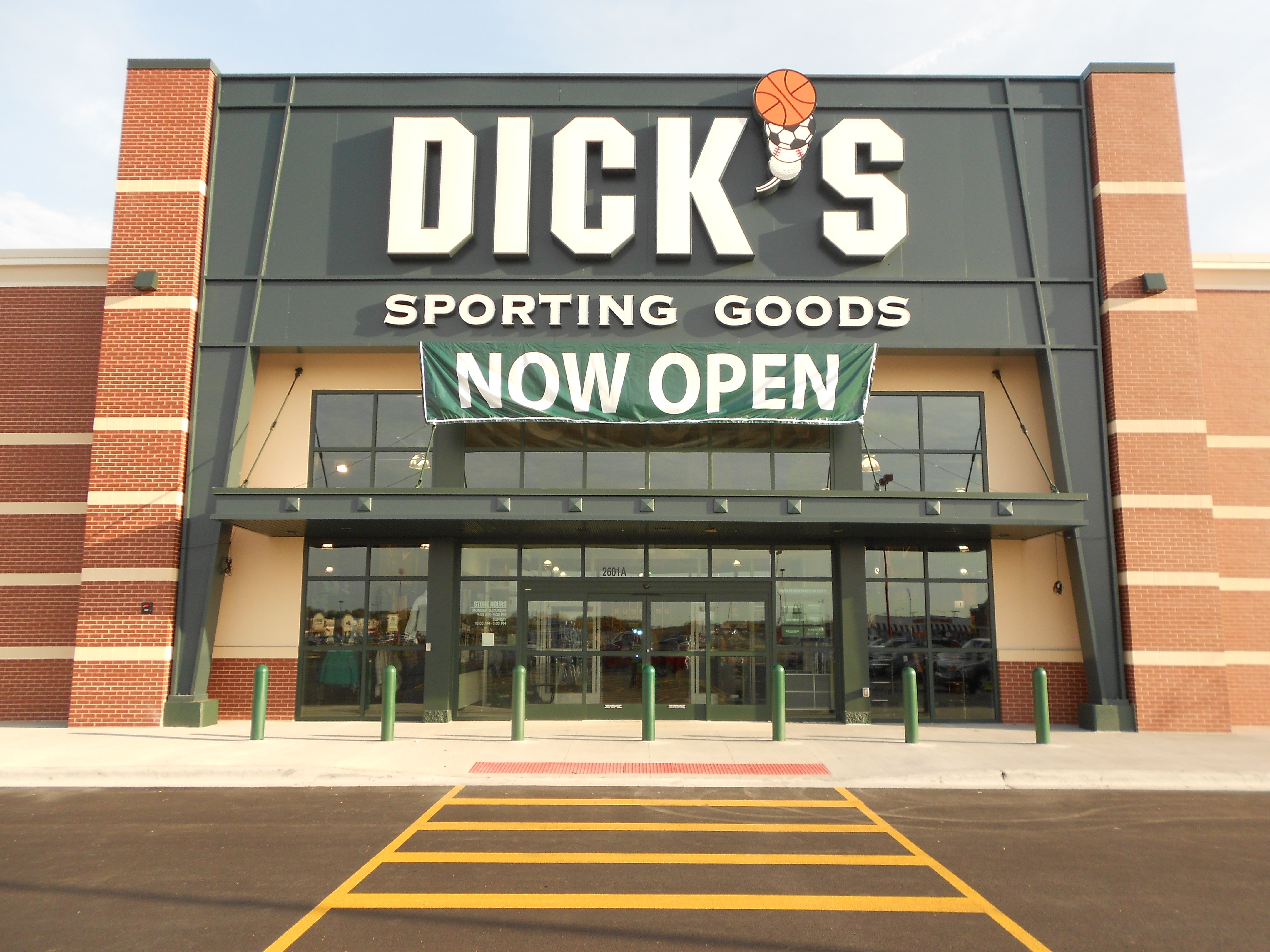 Store front of DICK'S Sporting Goods store in Joliet, IL